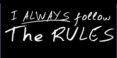 follow-the-rules